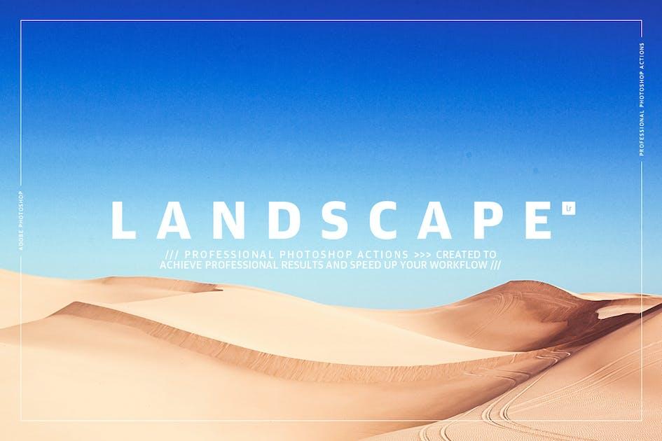 Download Landscape Photoshop Actions by GOICHA