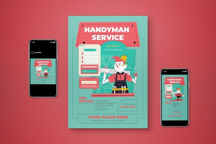Handyman Flyer Set
