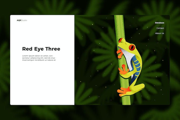 Thumbnail for Frog - Banner & Landing Page
