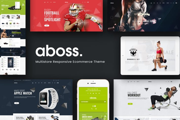 Cover Image For Aboss - Responsive Theme for WooCommerce WordPress