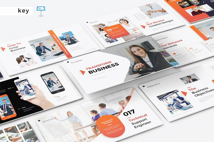 Thumbnail for TRANSFORM BUSINESS - Keynote V322