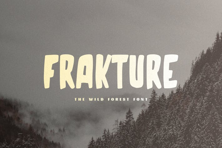 Thumbnail for Frakture - The Wild Forest Font