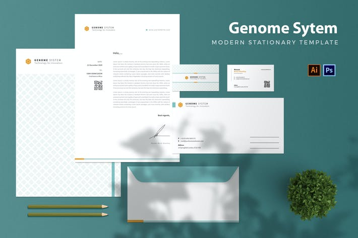 Thumbnail for Genome System - Stationary
