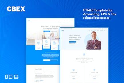 CBEX – Responsive CPA, Tax and Accounting HTML5 Te