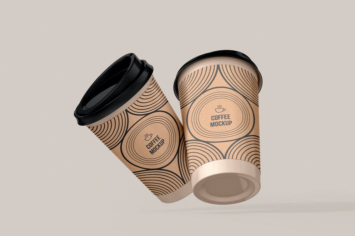 Coffee Cup Mockup - Vol 03