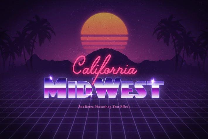 Thumbnail for Эффект ретро текста 80-х годов