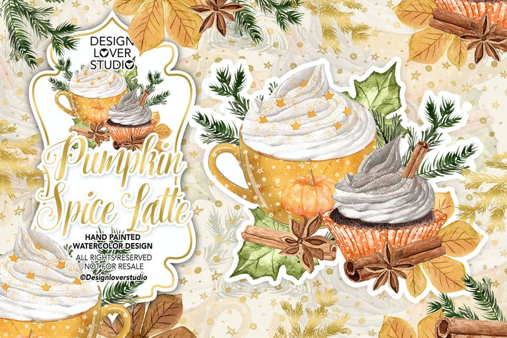 Thumbnail for Pumpkin Spice Latte design