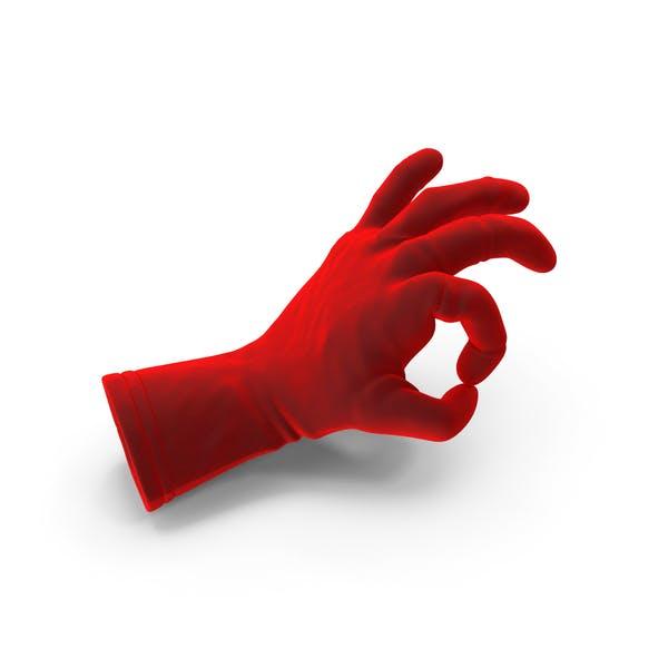 Velvet Glove Ok Gesture