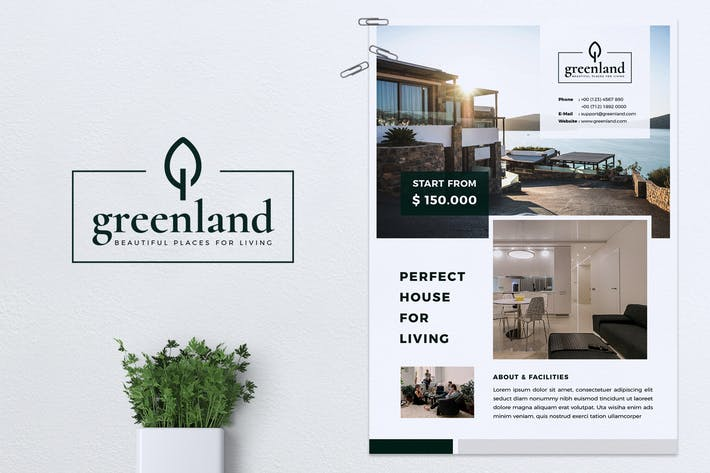 Thumbnail for GREENLAND Real Estate Flyer