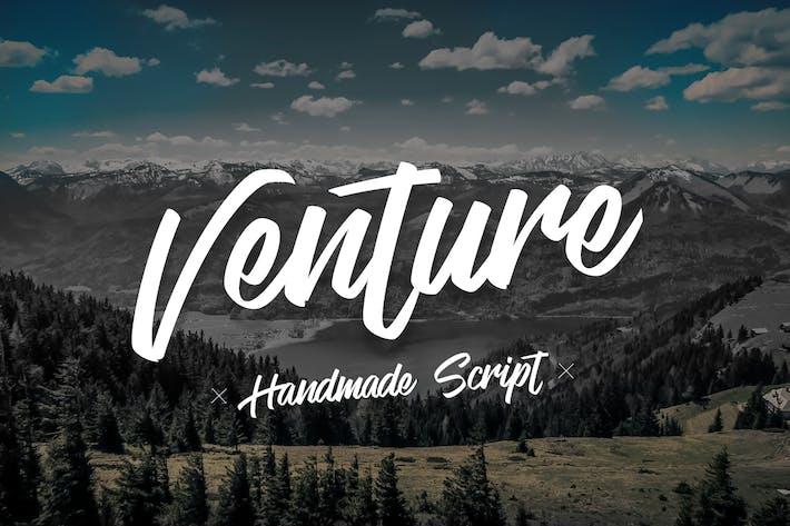 Thumbnail for Venture -  Handmade Font Script