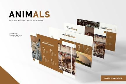 Animals - Powerpoint Template