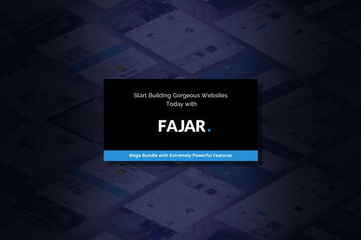 Thumbnail for Fajar | Le Modèle HTML5 multi-usage