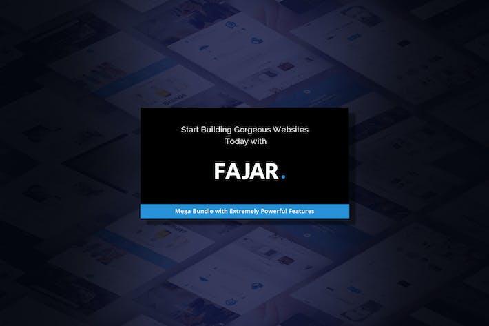 Thumbnail for Fajar | The Multi-Purpose HTML5 Template