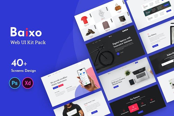 Thumbnail for Baixo Web UI Kit