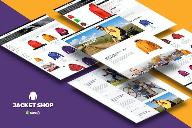 Jacket Shop | Fashion Shop Shopify theme