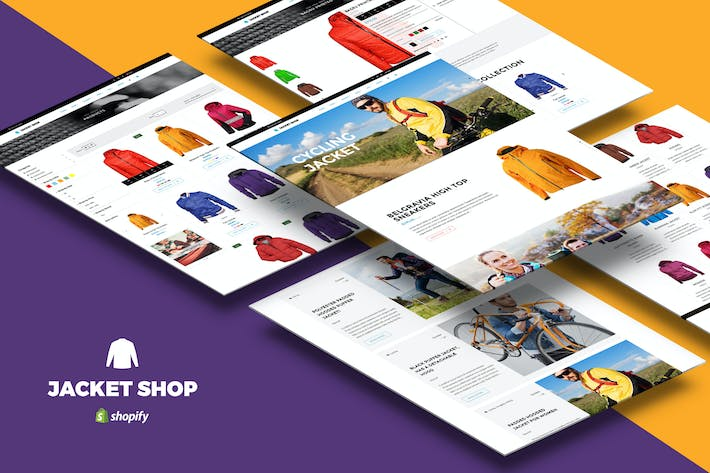 Thumbnail for Jacket Shop | Fashion Shop Shopify theme