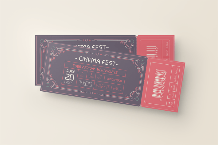 Thumbnail for Event Ticket Template