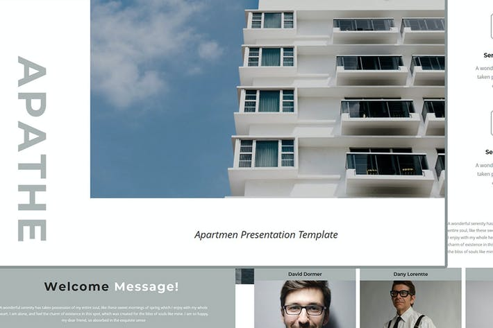 Thumbnail for Apathe – Business Apartment Keynote Template