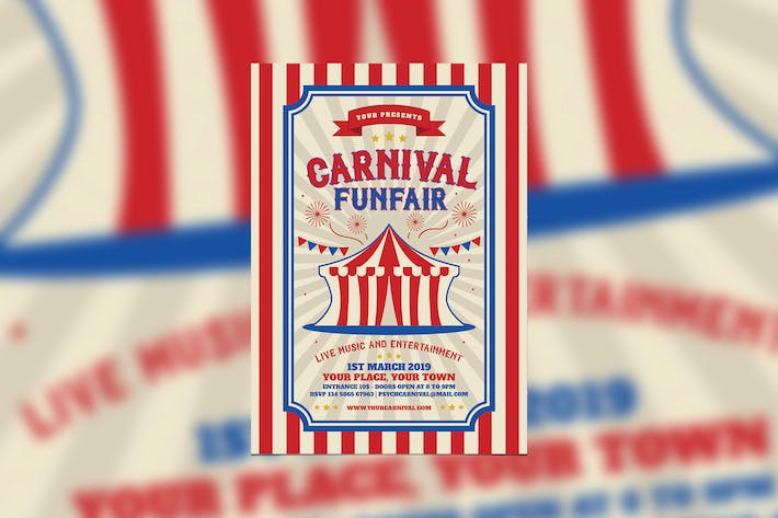 Thumbnail for Retro Carnival and Funfair