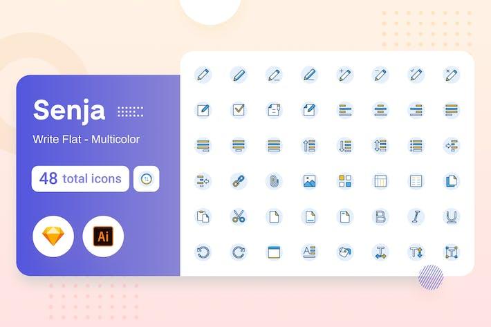 Thumbnail for Multicolor Senja - Write