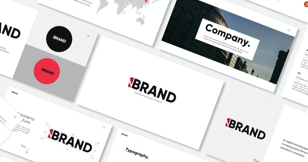 Download One Brand - Keynote Template by axelartstudio