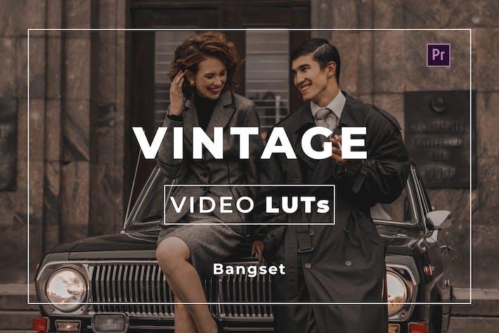 Bangset Винтаж видео LUT