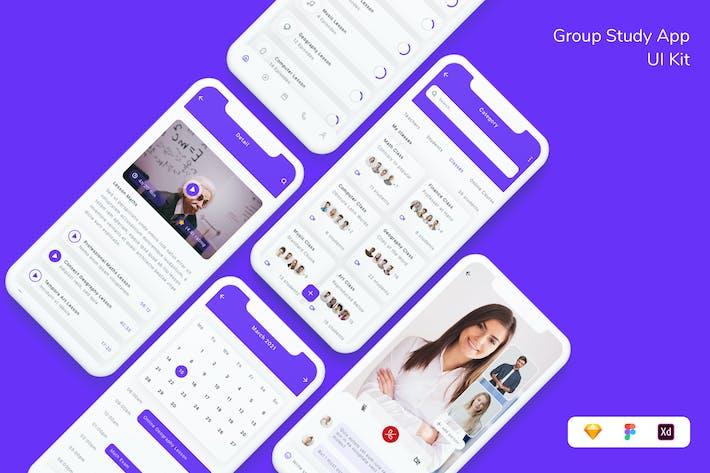 Group Study App UI Kit