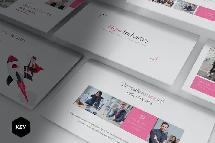 Thumbnail for New Industry - Keynote Template