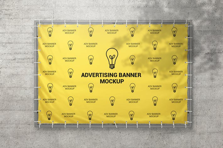 Thumbnail for Advertising Banner Mockup
