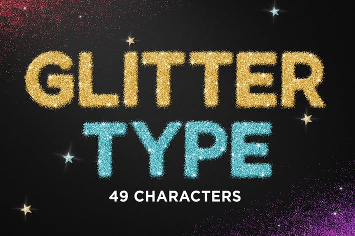 Cover Image For Glitter Type
