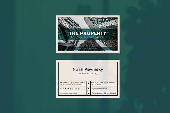 Thumbnail for The Property Business Card