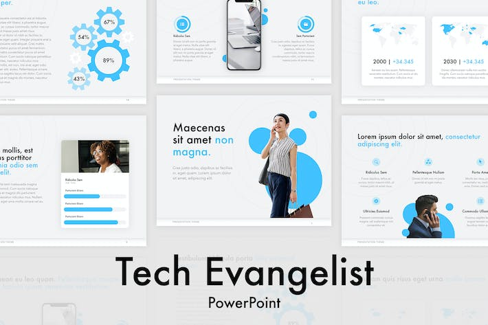 Thumbnail for Tech Evangelist PowerPoint Template