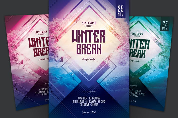 Thumbnail for Winter Break Flyer