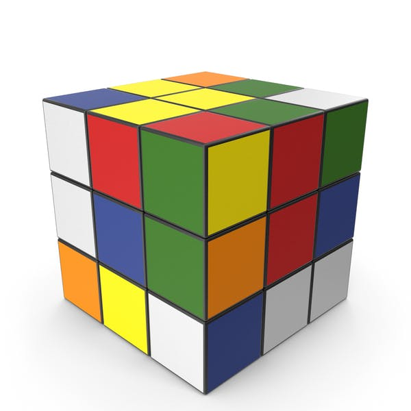 Разноцветные кубики головоломки