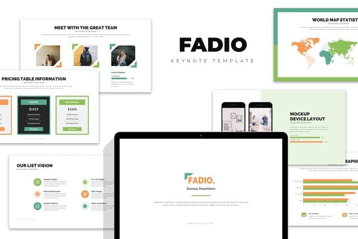 Thumbnail for Fadio : Project Consultant Services Keynote