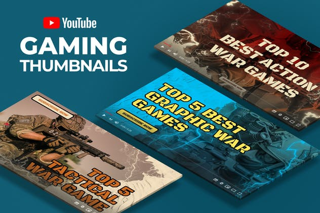 Youtube Thumbnail - Gaming Videos