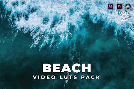 Beach Pack Video LUTs Vol.25