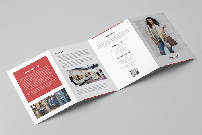 Thumbnail for Brochure – Fashion Look Book 4-Fold A5