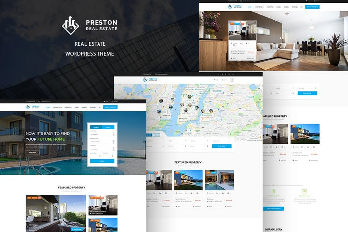 Thumbnail for Preston - Real Estate WordPress Theme
