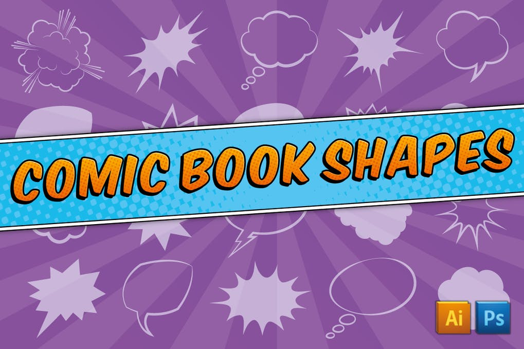 Comic Book Text Styles by JRChild on Envato Elements