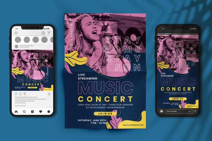 Thumbnail for Streaming Music Concert