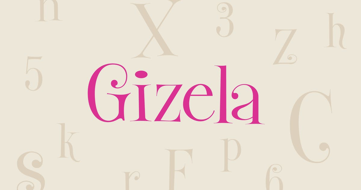 Download Gizela by WalcottFonts