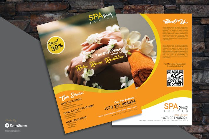 Thumbnail for Spa flyer vol. 03