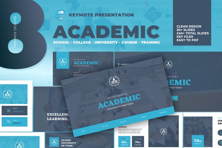 Thumbnail for Academic - University School Keynote