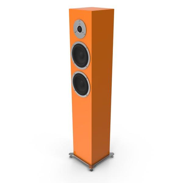 Orange Floor Speaker