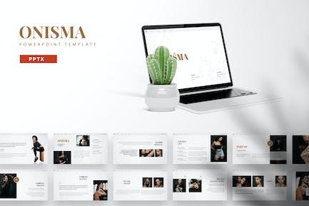 Onisma - Powerpoint-Vorlage