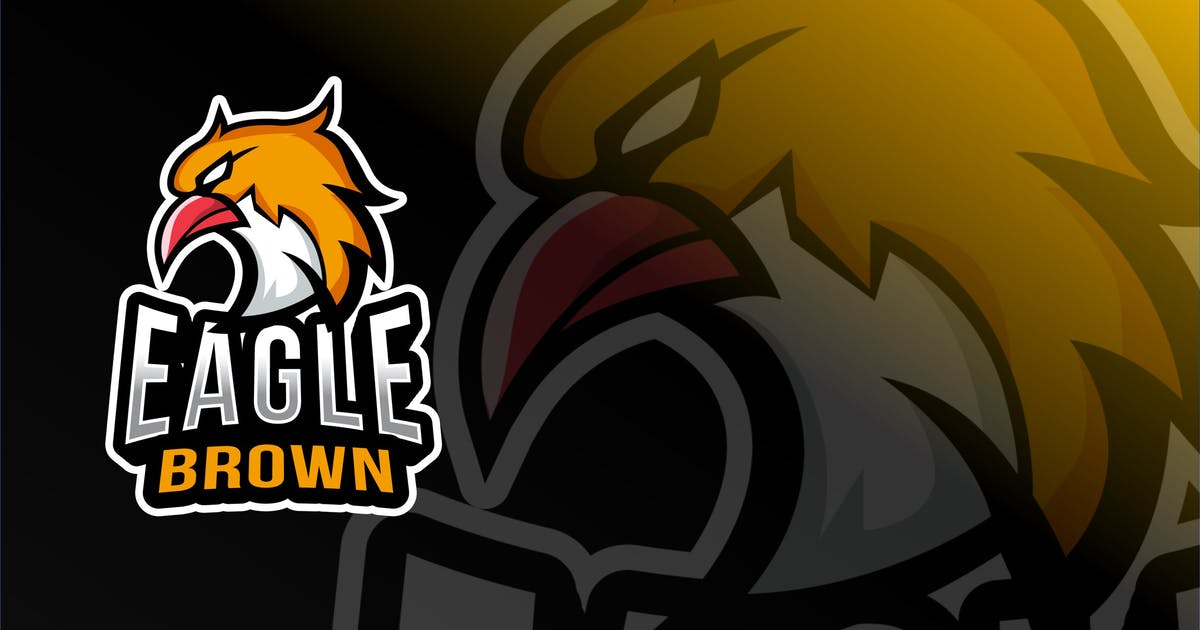 Download Eagle Brown Esport Logo Template by IanMikraz