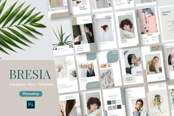 Thumbnail for Bresia - Instagram Story Template