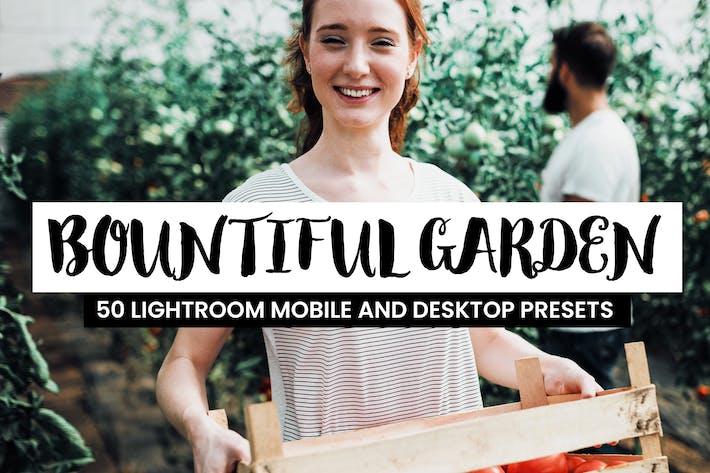 Thumbnail for 50 presintonías y LUTs de iluminación para jardín.