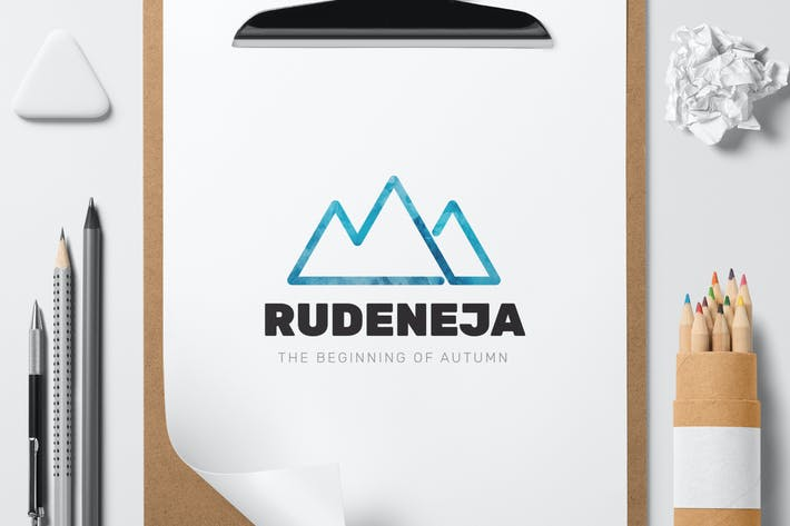Thumbnail for Rudeneja logo template